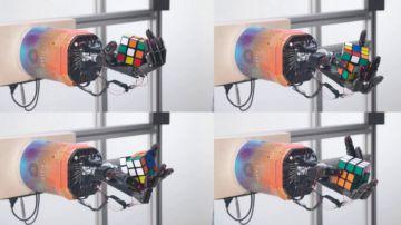 Video openai ha sviluppato un robot in grado di risolvere il cubo di rubik con una mano
