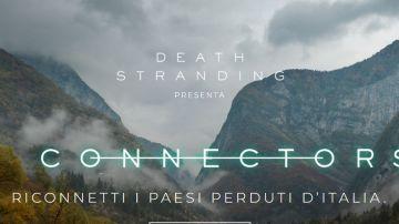 Video death stranding, sony presenta 'connectors': in missione per riconnettere borghi italiani!