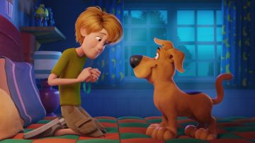 Video c'è il primo incontro tra shaggy e scooby nel trailer ufficiale di scoob!