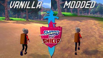 Video pokemon spada e scudo su switch: la nuova mod grafica migliora le texture di galar