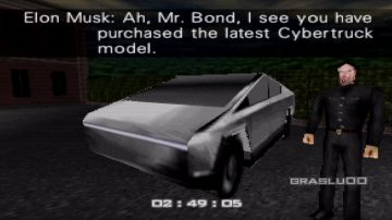 Video il tesla cybertruck in goldeneye 007 per nintendo 64, gta 5 e minecraft