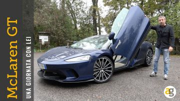 Video andrea galeazzi ha provato la mclaren gt: il video