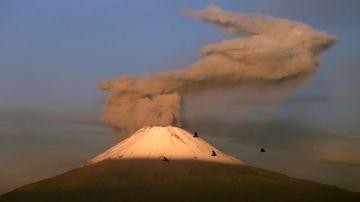 Video spettacolare time-lapse ci mostra l'impressionante eruzione di un vulcano del messico