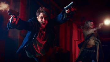 Video daniel radcliffe ha le mani-pistola nel primo trailer dell'eccentrico guns akimbo