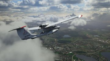 Video microsoft flight simulator: audio e gameplay del gioco iperrealistico in video