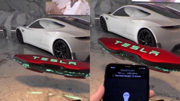 Video tesla e la questione dell'hoverboard volante che si controlla con lo smartphone