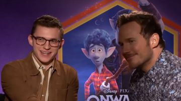 Video la bella intervista dove tom holland e chris pratt annunciano il loro bromance
