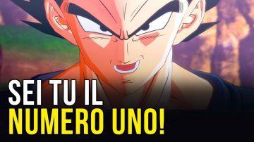 Video dragon ball z, sei tu il numero uno: il discorso di vegeta in kakarot con le voci italiane