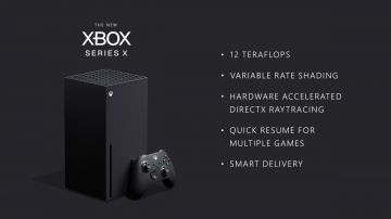Video xbox series x: 12 tflop, ray tracing, supporto ai 120 fps e variable refresh rate