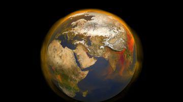 Video ricercatori creano un modello 3d delle emissioni di metano del nostro pianeta