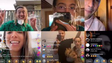 Video ghali realizza il video di good times in casa tramite delle dirette instagram