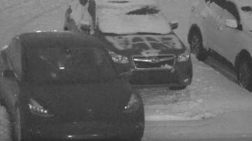 Video tesla model 3 scivola sulla neve con bimbo a bordo e si scontra con un altro veicolo