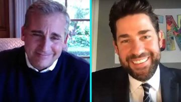 Video the office: reunion tra john krasinski e steve carell in diretta per i 15 anni dello show
