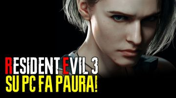 Video resident evil 3 remake, pc vs ps4 pro: video confronto a 4k e 60fps