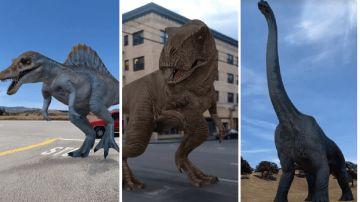 Video google, arrivano i dinosauri in realtà aumentata: ecco come vederli