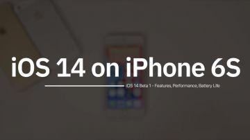 Video iphone 6s alle prese con ios 14 in un video: le prestazioni sono impressionanti!