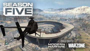 Video call of duty warzone: tutti allo stadio con il trailer della stagione 5!