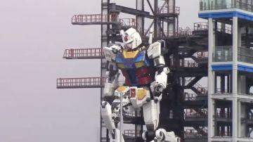 Video un gundam di 18 metri funzionante è realtà in giappone: ecco come funziona