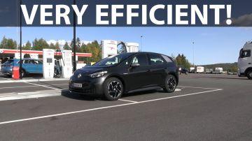 Video la volkswagen id.3 a 90 e 120 km/h: come cambia l'autonomia?