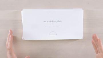 Video ecco com'è la mascherina facciale di apple progettata dal team di industrial design