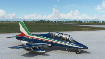 Video microsoft flight simulator accoglie le frecce tricolori e una ps5 gigante
