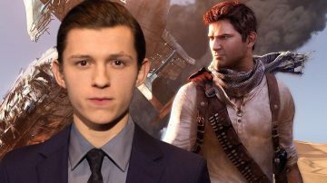 Video uncharted, tom holland è nathan drake nella prima foto ufficiale del film