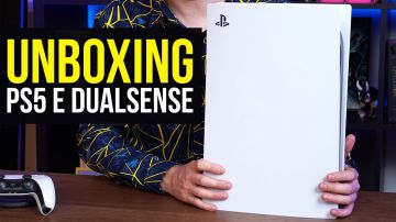 Video playstation 5: video unboxing della console e del dualsense