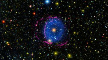 Video scoperto il segreto che si celava dietro la misteriosa 'nebulosa ad anello blu'