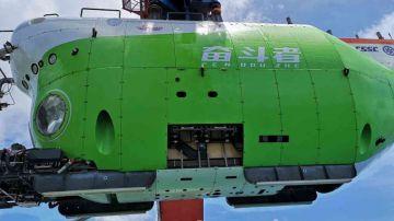 Video un sommergibile della cina ha appena raggiunto il punto più profondo della terra