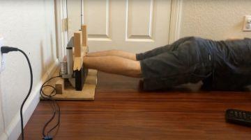 Video un controverso gadget non lascia andare via finché l'esercizio fisico non è finito