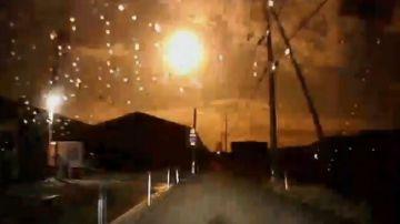 Video il video della meteora che in giappone ha trasformato 'la notte in giorno'
