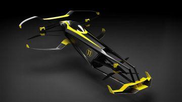 Video il carcopter volante potrebbe rivoluzionare il mondo delle corse