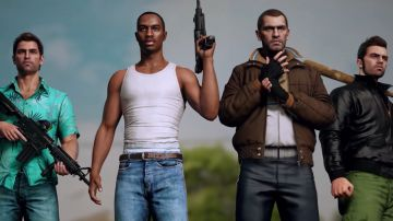 Video gta: ecco come potrebbero essere tommy vercetti, cj e niko bellic nei remake per ps5
