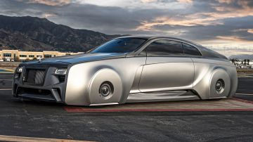 Video justin bieber si è regalato una futuristica rolls-royce personalizzata