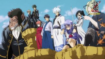 Video gintama: the final, i primi 90 secondi del film sono una parodia di dragon ball z!