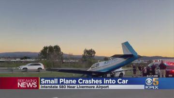 Video piccolo aereo travolge una lexus sull'interstatale: il video è assurdo
