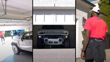 Video lebron james va matto per l'hummer elettrico:'è una bestia'
