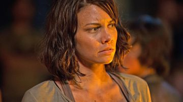 Video the walking dead, lauren cohan racconta la 'cena di addio' del cast a glenn e abraham