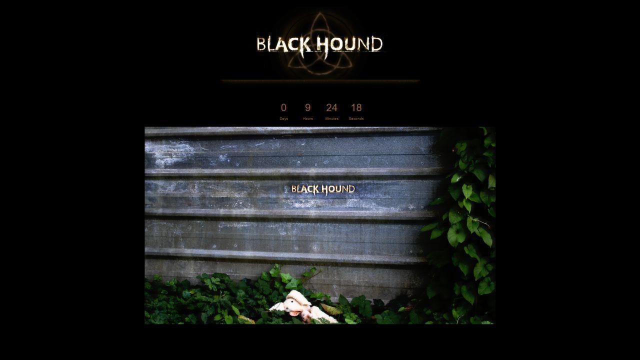 [Aggiornata] Cos'è Black Hound? Un nuovo progetto di Hideo Kojima o qualcosa legato a Metal Gear Solid V?