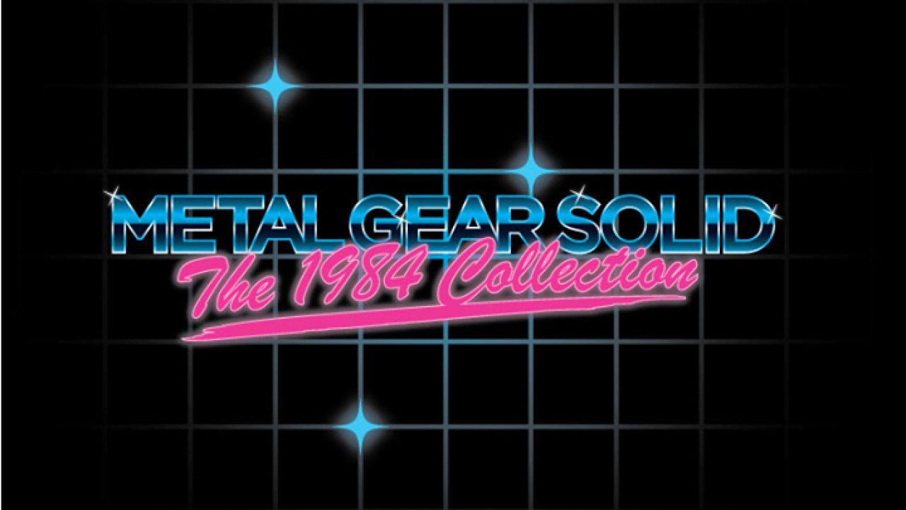[Aggiornata] Konami annuncia Metal Gear Solid The 1984 Collection