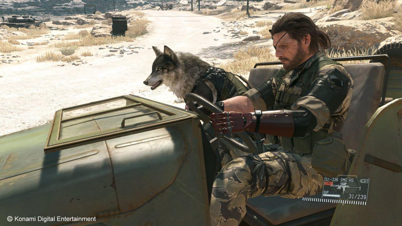 [Aggiornata] Metal Gear Solid 5 The Phantom Pain: nuovo trailer e video gameplay alla Gamescom