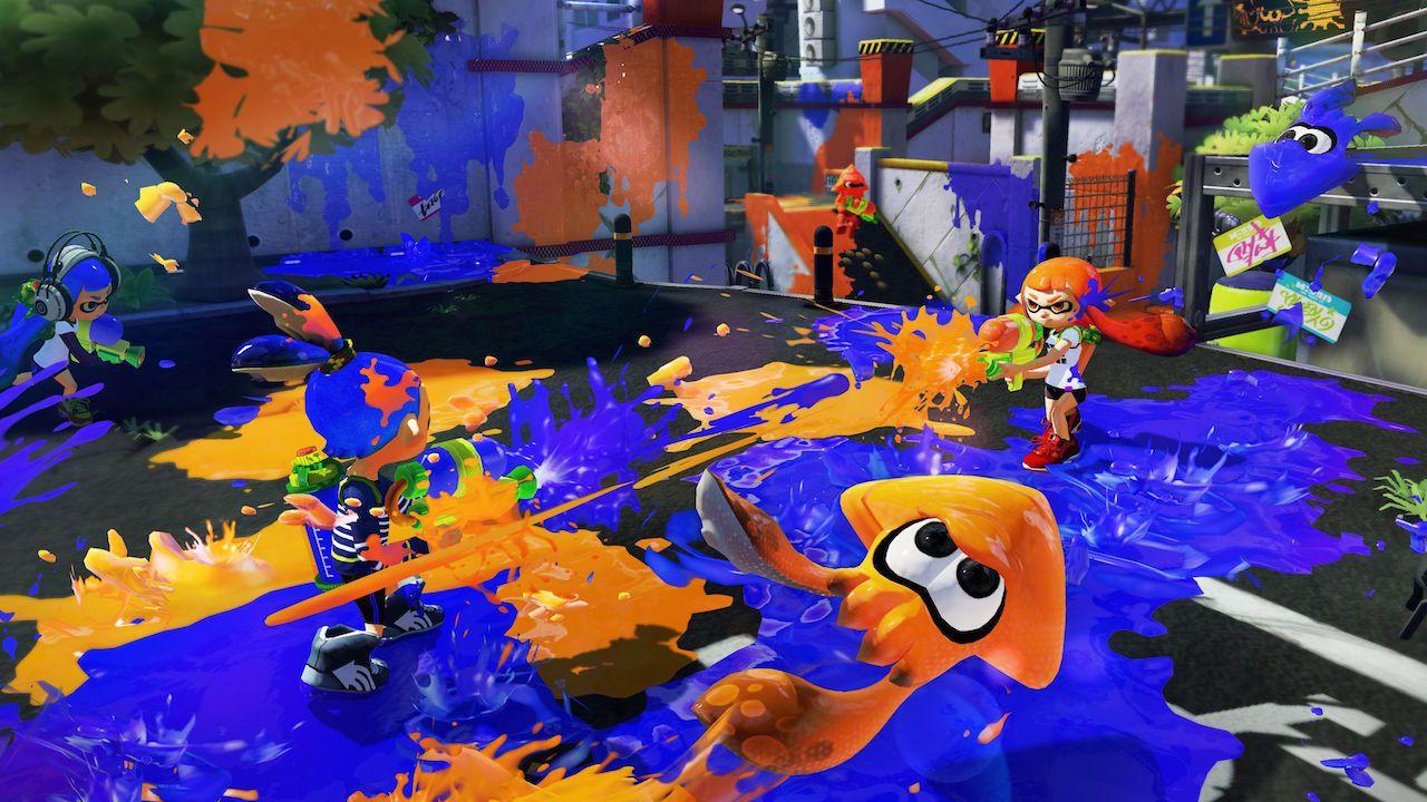 [Aggiornata] Splatoon: in arrivo due nuovi armi per lo splattatutto Nintendo