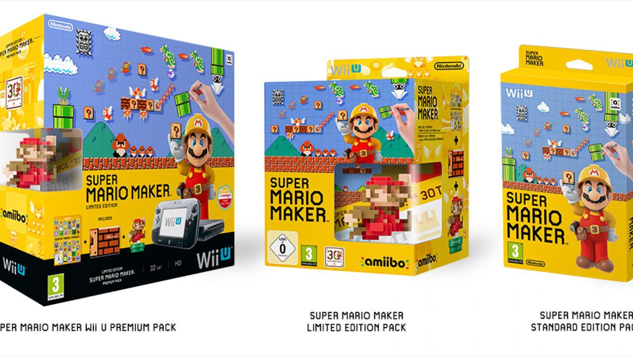 [Aggiornata] Super Mario Maker: Nintendo annuncia uno speciale bundle Wii U