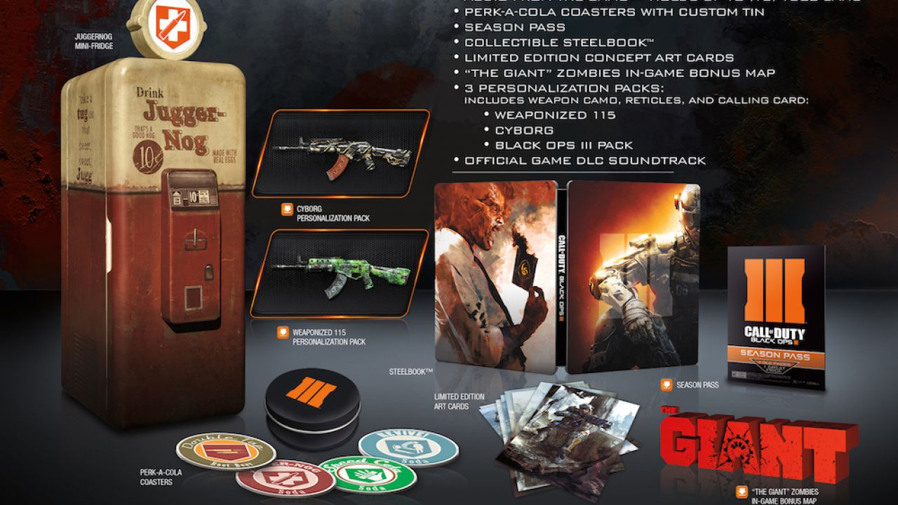 [Aggiornata] Trapela sul web la Juggernog Edition di Call of Duty Black Ops 3 con mini frigo funzionante incluso