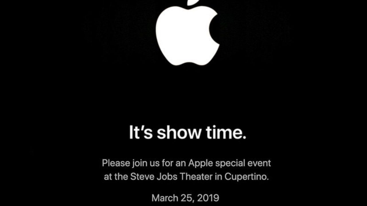'It's show time', Apple annuncia il keynote del 25 Marzo. In arrivo la risposta a Netflix?