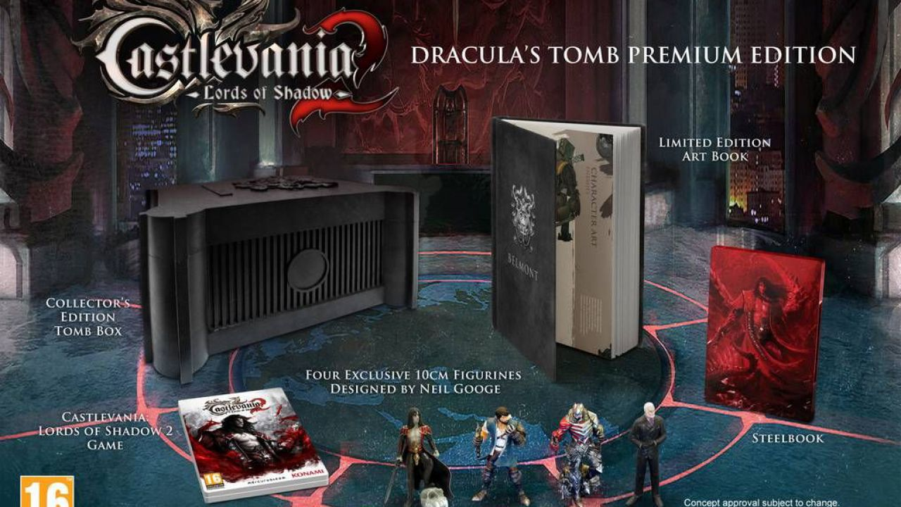 [Rumor] Castlevania Lords of Shadow 2 in sviluppo per Wii U, PS Vita, PS3 e Xbox 360