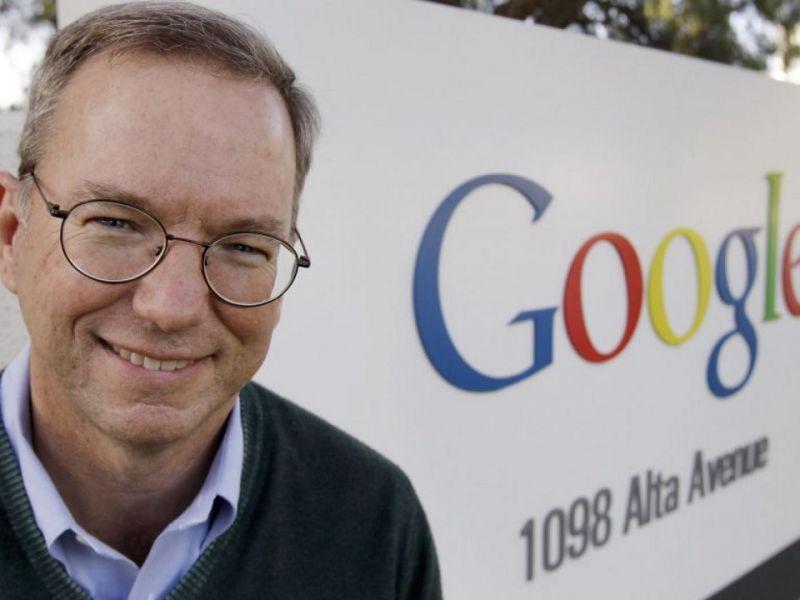 'Scossa' in casa Google: Eric Schmidt avrebbe lasciato a febbraio