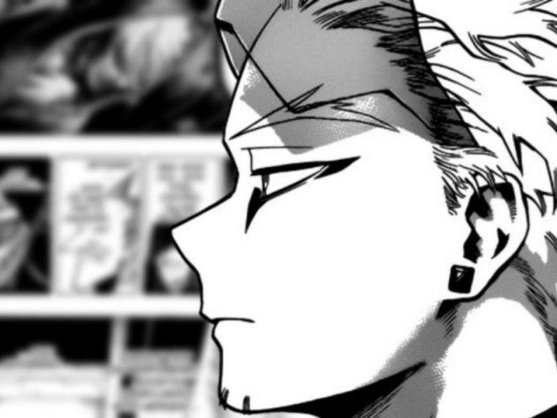 [SPOILER] My Hero Academia: Tokoyami e Hawks si ricongiungono in questa fan art post guerra