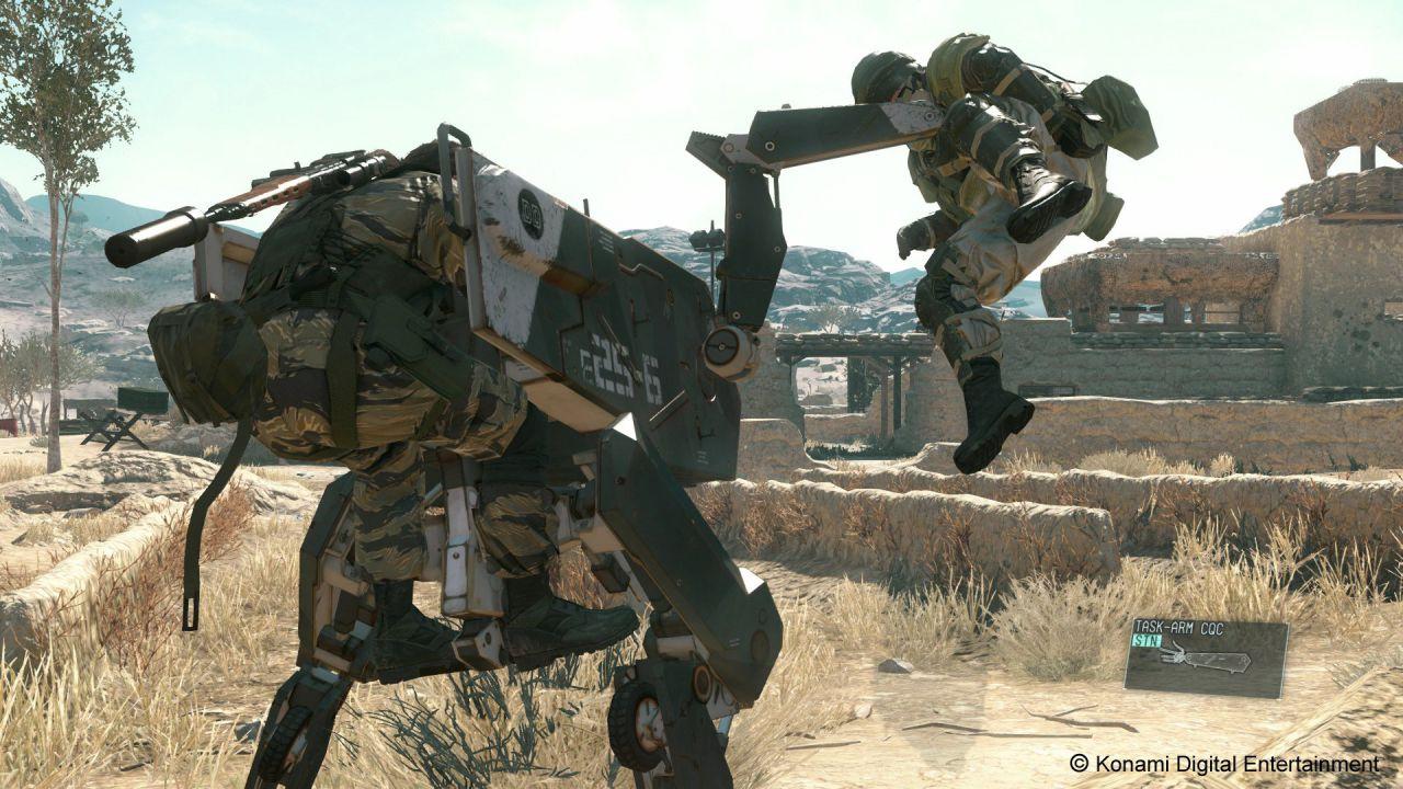 20 minuti di gameplay per Metal Gear Solid V The Phantom Pain dal PAX Prime