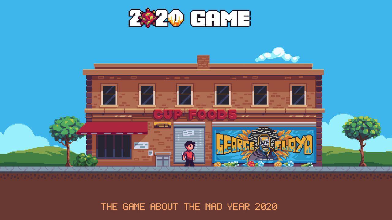 2020 Game: il videogioco gratis per ripercorrere uno degli anni più incredibili di sempre